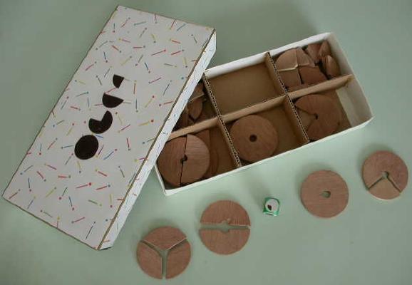 Galettes des fractions
