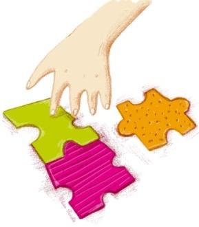 Main au puzzle