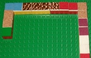 dominos Lego