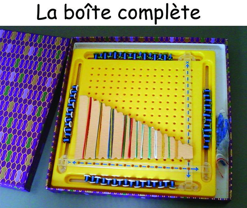 Boite de géométrie maths braille
