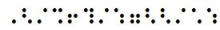 fraction braille
