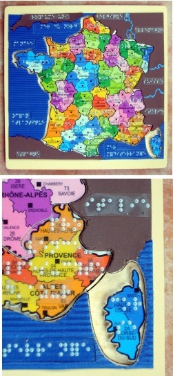 Puzzle des régions françaises