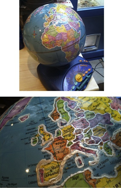 Globe interactif