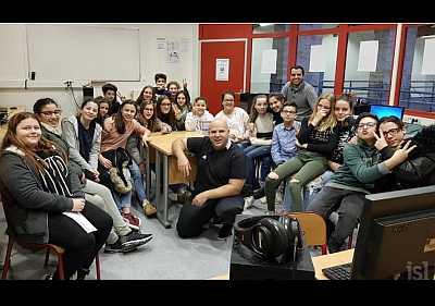La classe du collège Bréart